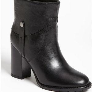 FRANCO SARTO boots Real Leather Black Occela
